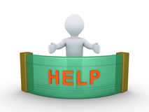 A pessoa está fornecendo a ajuda Imagens de Stock