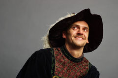 A pessoa feliz Imagens de Stock Royalty Free