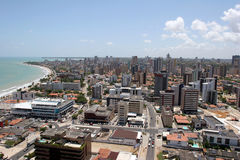 pessoa joao πόλεων της Βραζιλίας στοκ φωτογραφία με δικαίωμα ελεύθερης χρήσης
