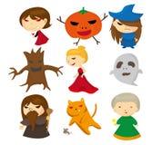 Pessoa ruim dos desenhos animados Imagens de Stock Royalty Free