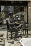 Pessoa 's bronze statue Stock Photography