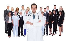 Pessoal hospitalar profissional Foto de Stock