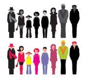 Pessoas Imagem de Stock
