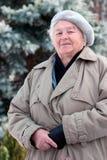 Pessoas idosas ao ar livre fotografia de stock