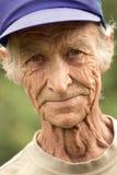 Pessoas idosas o homem Fotografia de Stock Royalty Free