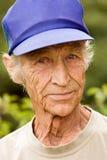 Pessoas idosas o homem Imagem de Stock