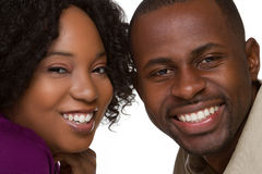 Pessoas negras Imagem de Stock