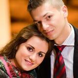 Pessoas novas do negócio no amor Fotos de Stock