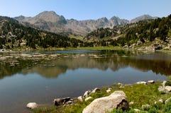 Pessons, Lake, Andorra Stock Images