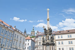 Pest Column of Prague Royalty Free Stock Image