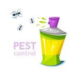 Pest control, concept design, vector illustration Stock Image