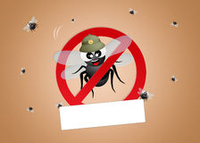 Pest control pests Stock Images