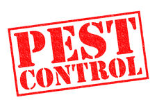 PEST CONTROL Royalty Free Stock Photos