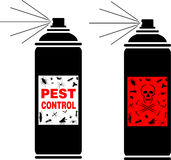 Pest control spray Royalty Free Stock Photography