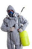 A pest control worker  Stock Photos