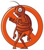 Pest extermination sign Stock Photo