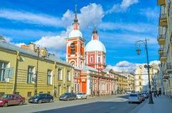 The Pestel street in St Petersburg Stock Photo