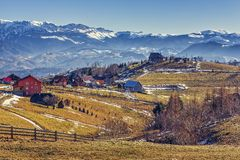 Pestera village, Romania Royalty Free Stock Images