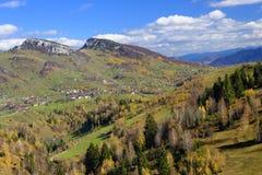 Pestera village in Romania Royalty Free Stock Photo