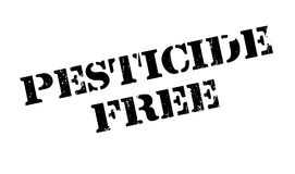 Pesticide Free rubber stamp. Grunge design with dust scratches. Effects can be easily removed for a clean, crisp look. Color is easily changed Royalty Free Stock Photos