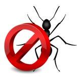 Pesticide icon. Vector illustration of pesticide symbol Stock Photography