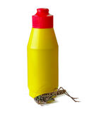Pesticide sprayer with locust Stock Photography