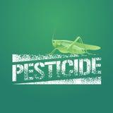 Pesticide vector logo, icon, symbol, emblem Royalty Free Stock Photo