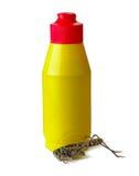 Pesticidespuitbus met sprinkhaan Stock Fotografie