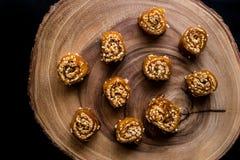 Pestil/Cevizli Sucuk/пульпа плодоовощ грецкого ореха Стоковые Изображения
