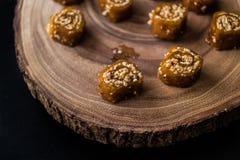 Pestil/Cevizli Sucuk/пульпа плодоовощ грецкого ореха Стоковая Фотография RF