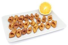 Pestino (dessert andalou type) Images libres de droits