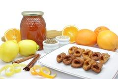 Pestino (dessert andalou type) Photo stock