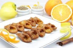 Pestino (dessert andaluso tipico) Fotografie Stock