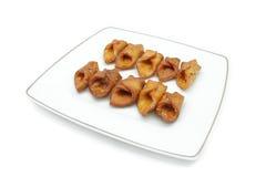Pestino (dessert andaluso tipico) Fotografie Stock Libere da Diritti