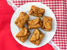 Pestinos (torte di miele spagnole) fotografia stock libera da diritti