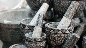 Pestle and Mortar Royalty Free Stock Image