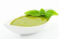 Pesto调味汁 免版税库存图片