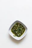 Pesto调味汁 免版税库存照片