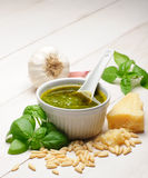 Pesto Royaltyfri Foto