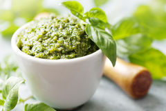 Pesto Fotografie Stock