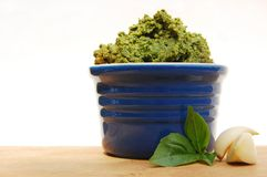 Pesto Royalty-vrije Stock Foto's