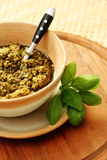Pesto Royalty Free Stock Photo