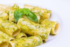 Pesto al макаронных изделий Стоковое фото RF