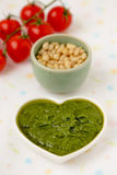 Pesto alla Genovese. Royalty Free Stock Images