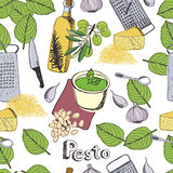 Pesto background Royalty Free Stock Image