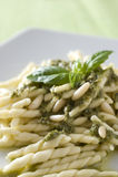 Pesto d'Al de Trofie Photographie stock libre de droits