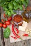 Pesto de /poivron image libre de droits