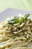 Pesto do al de Trofie Fotografia de Stock Royalty Free