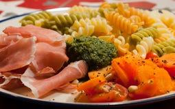 Pesto e parma Imagens de Stock Royalty Free