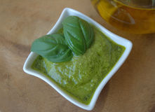 Pesto genovese Stock Photos